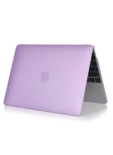 "Mcstorey MacBook Air A1465  A1370 11.6"" Kılıf Kapak Koruyucu Hard Incase Mat Lila"